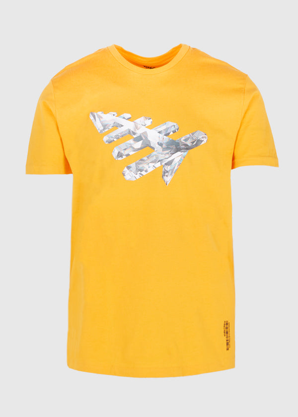 PAPER PLANES: CRYSTAL CLEAR TEE [YELLOW]