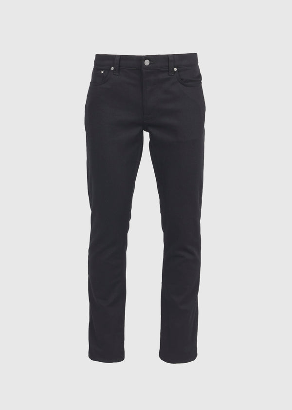 NUDIE JEANS CO.: LEAN DEAN DRY JEANS [BLACK]