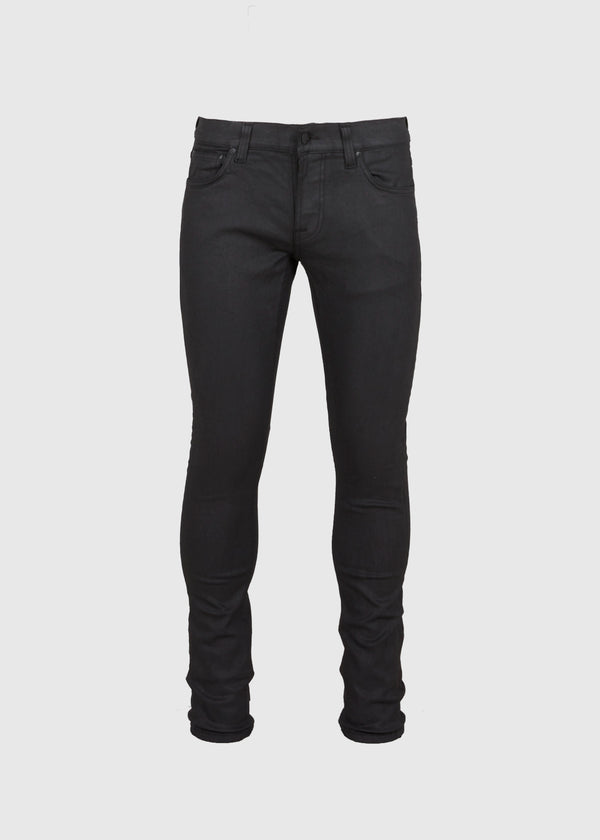 NUDIE JEANS CO.: TIGHT TERRY PAINTED BLACK [BLACK]