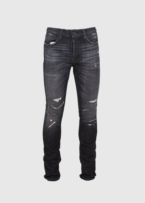 NUDIE JEANS CO.: LEAN DEAN [BLACK]
