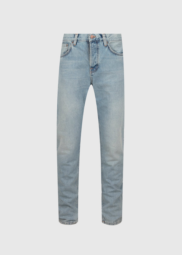 NUDIE: STEADY EDDIE II DENIM JEANS [BLUE]