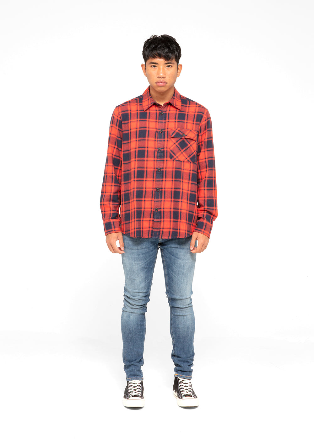 nudie-jeans-co-sten-flannel-shirt-140615-red-blk-2