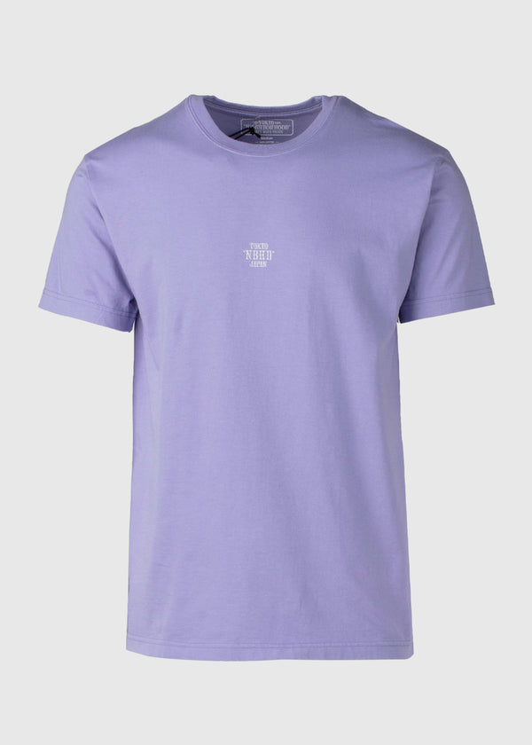 NEIGHBORHOOD: EMB SS TEE [PURPLE]