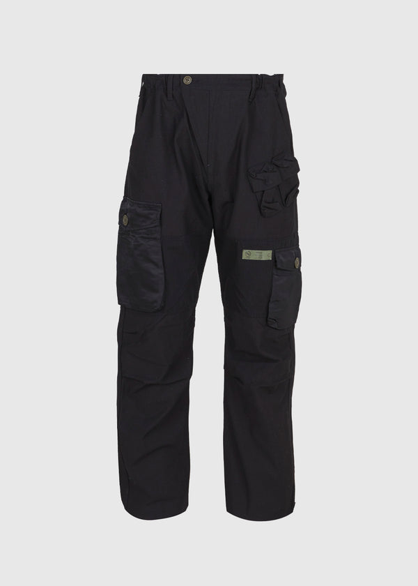 NEIGHBORHOOD: CWM PANTS [BLACK]