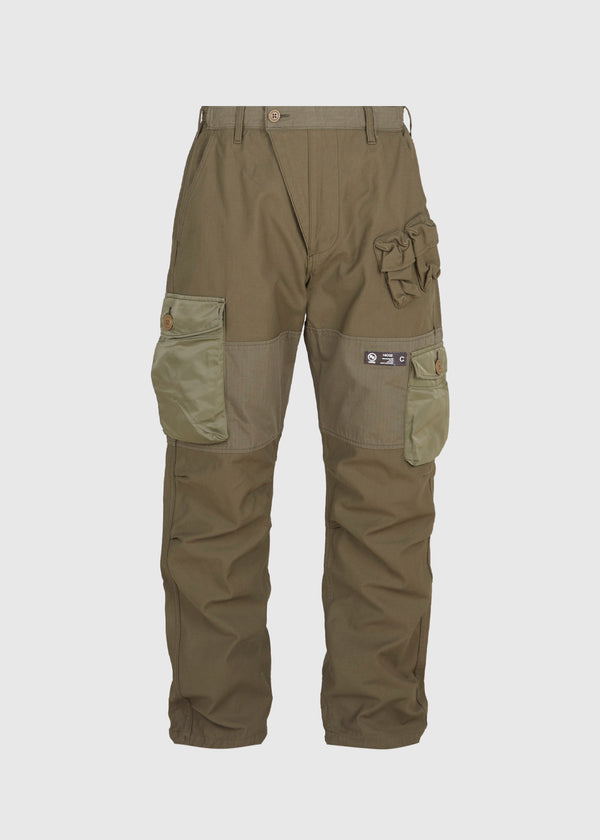 NEIGHBORHOOD: CWM PANTS [OLIVE]