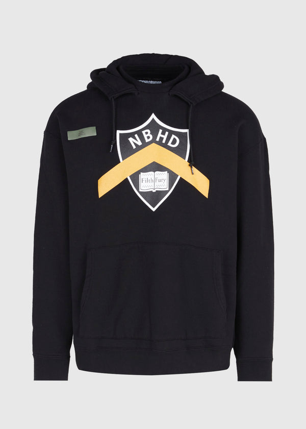 NEIGHBORHOOD: HOODIE [BLACK]