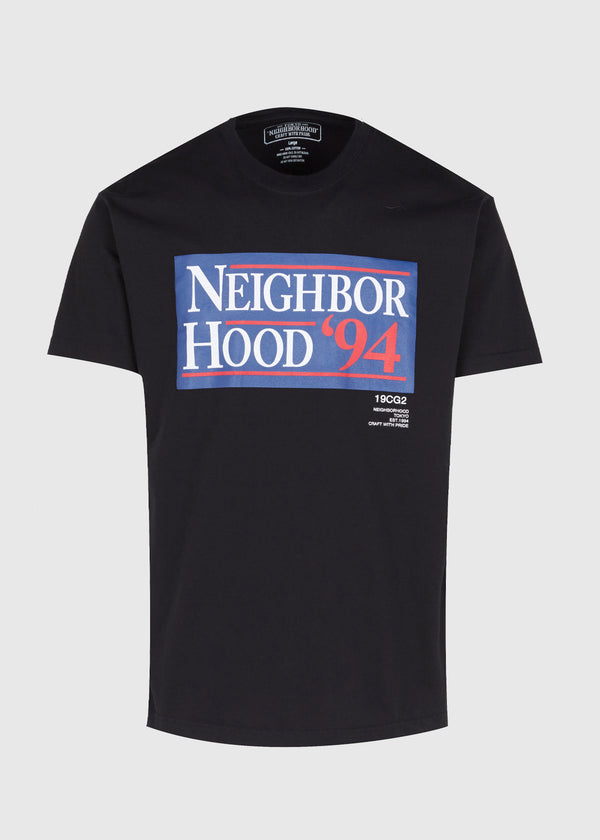 NEIGHBORHOOD: '94 SS TEE [BLACK]
