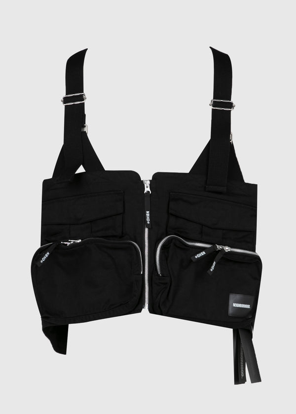 NEIGHBORHOOD: VEST [BLACK]