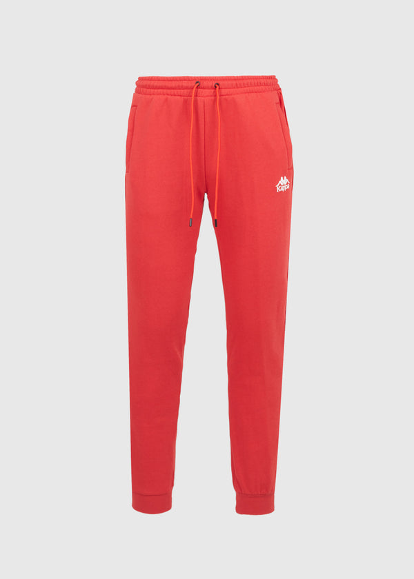 KAPPA: 222 BANDA ALANZ SWEATPANTS [RED]