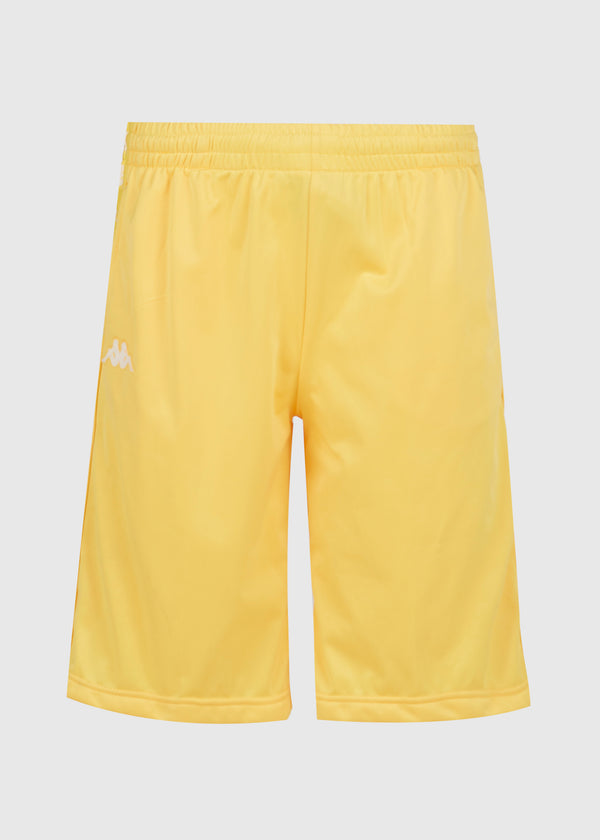 KAPPA: 222 BANDA SHORTS [YELLOW]