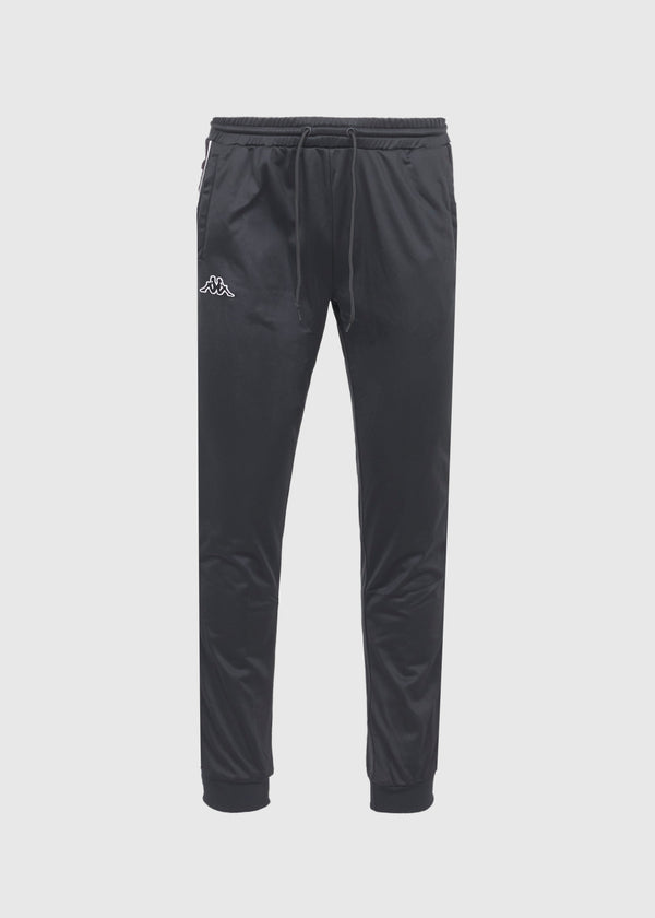 KAPPA: LOGO TAPE PANTS [BLACK]