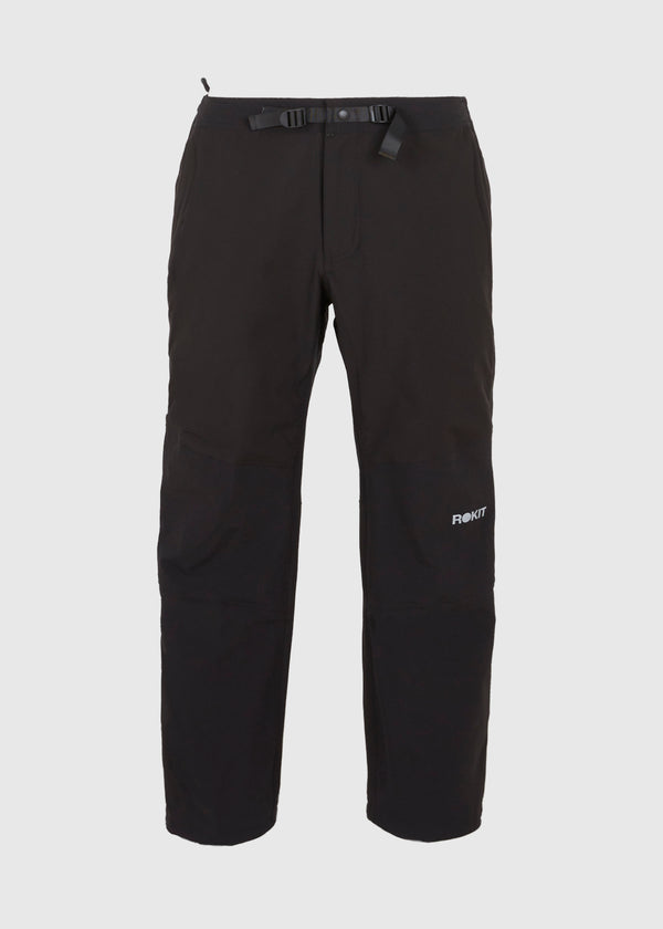 ROKIT: ZIP UP PANTS [BLACK]