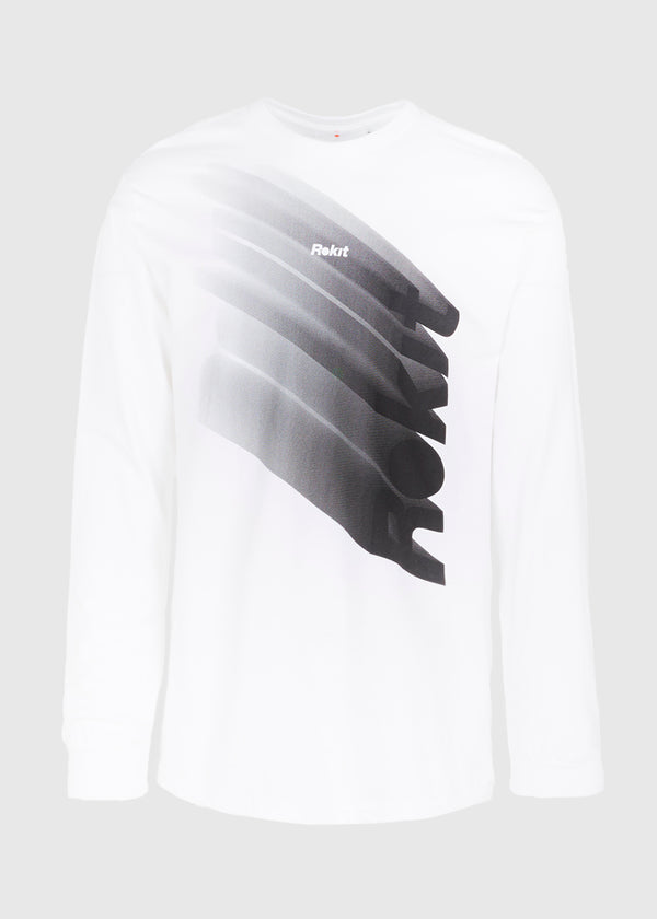 ROKIT: DESCENT LS TEE [WHITE]