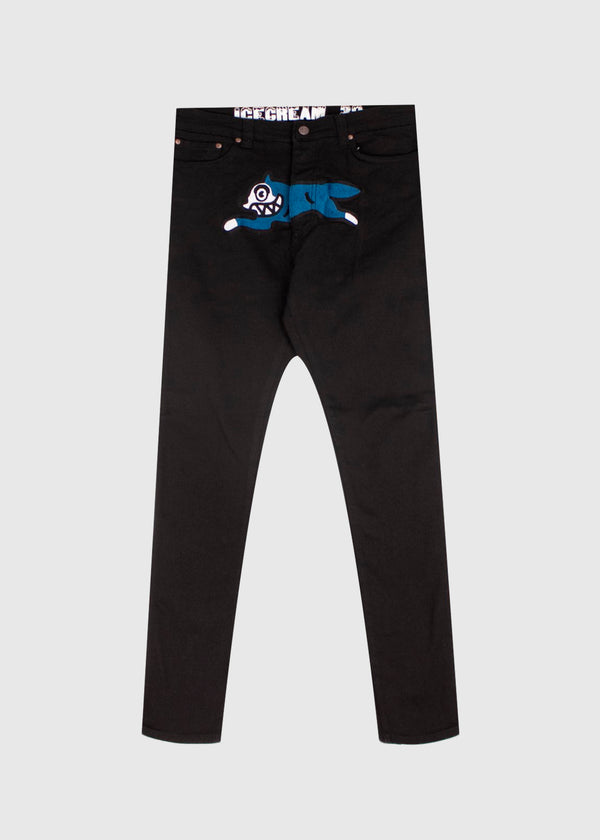 ICECREAM: HAWK JEAN [BLACK]