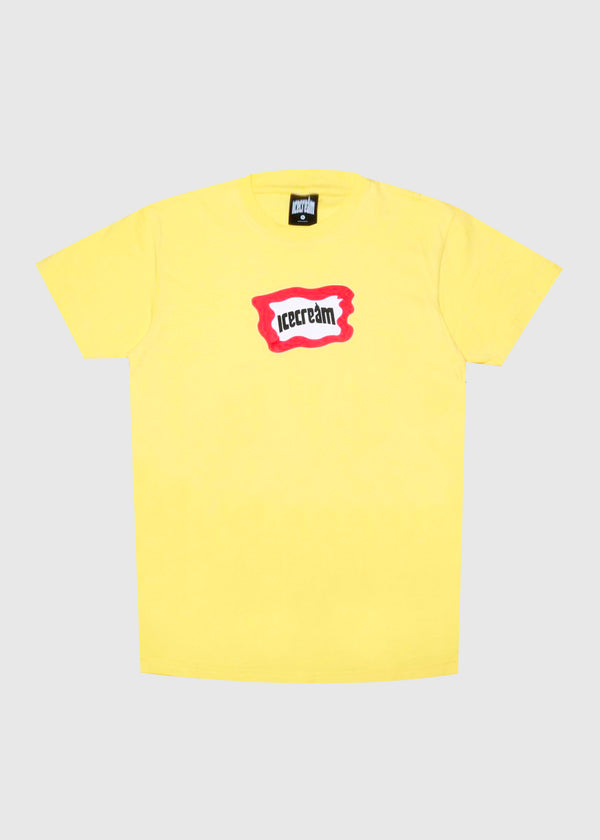 ICECREAM: MALTO SS TEE [YELLOW]