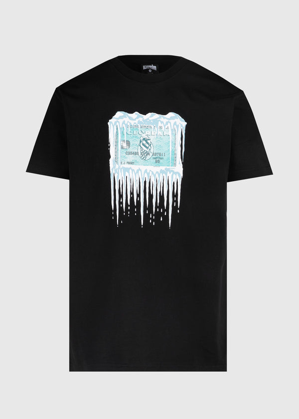 ICECREAM: FROZEN CREDIT SS TEE [BLACK]