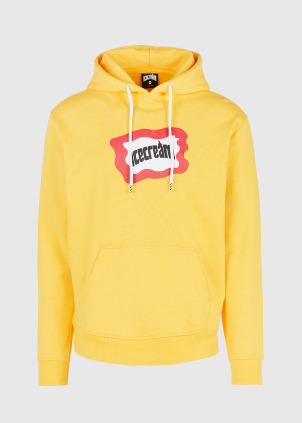 ICECREAM: FLAG HOODIE [YELLOW]