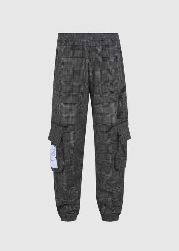 MCQ: NEO TRACKPANTS [BLACK]