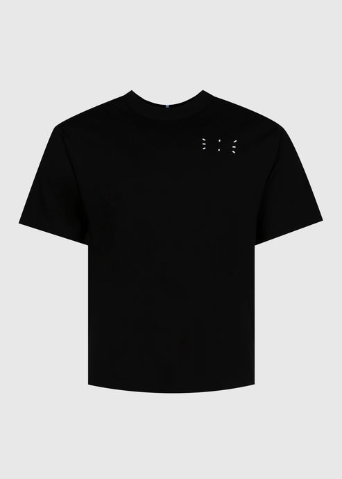 MCQ: STITCH LOGO TEE [BLACK]