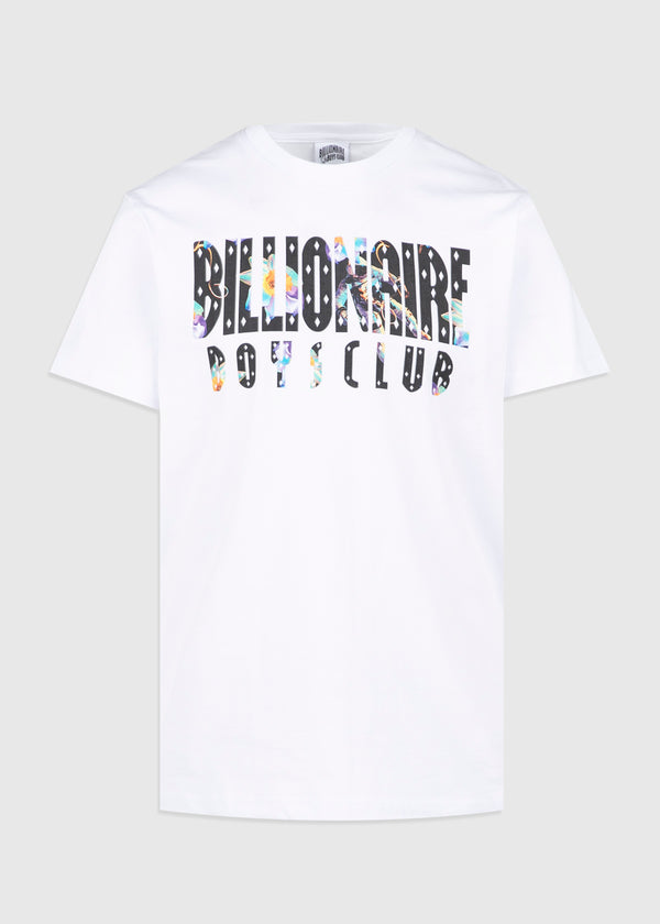 BILLIONAIRE BOYS CLUB: BILLIONAIRE SS TEE [WHITE]