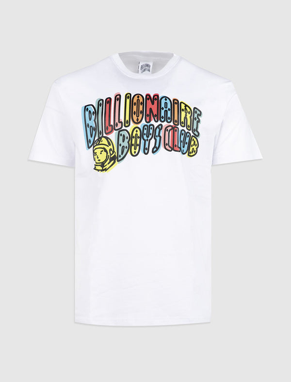 BILLIONAIRE BOYS CLUB: OFF REGISTRATION TEE [WHITE]
