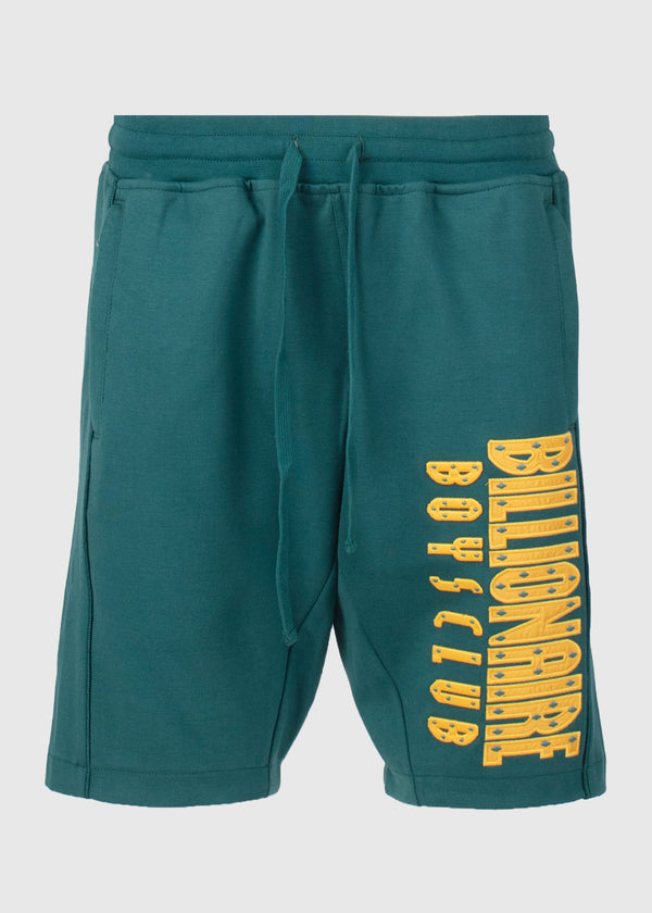 BILLIONAIRE BOYS CLUB: STRAIGHT FONT SHORTS [GREEN]