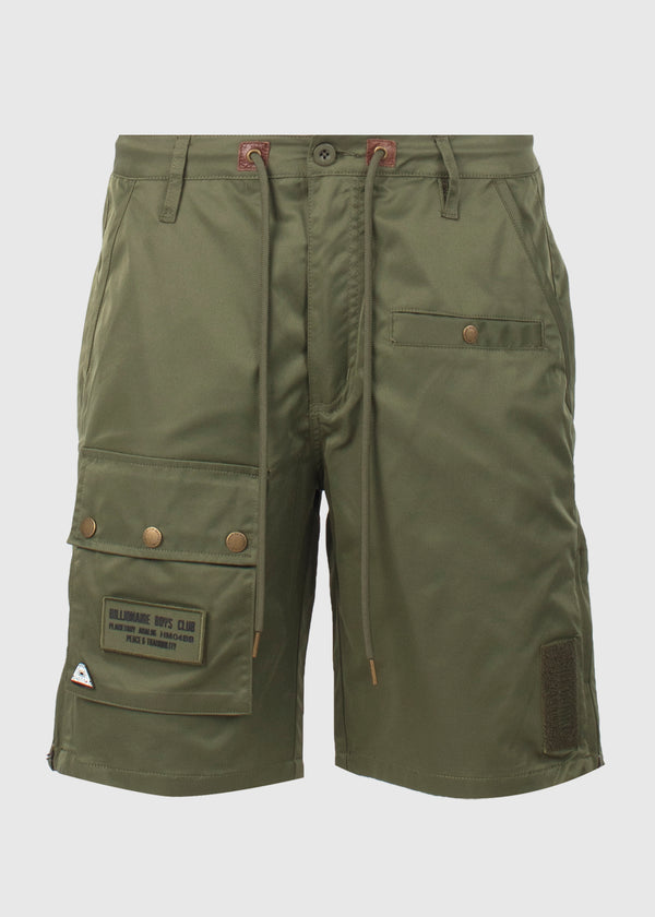 BILLIONAIRE BOYS CLUB:  AVIATOR SHORTS [GREEN]