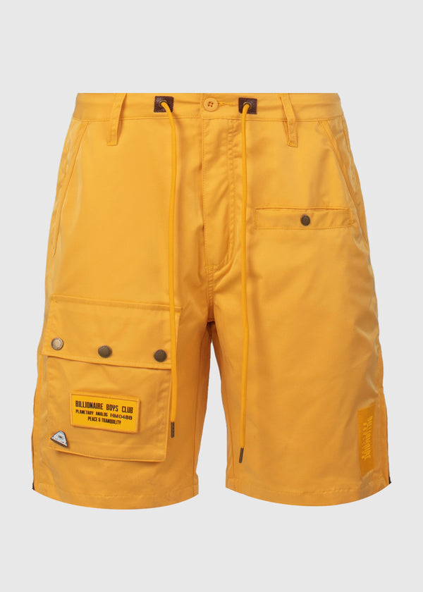 BILLIONAIRE BOYS CLUB: AVIATOR SHORTS [YELLOW]