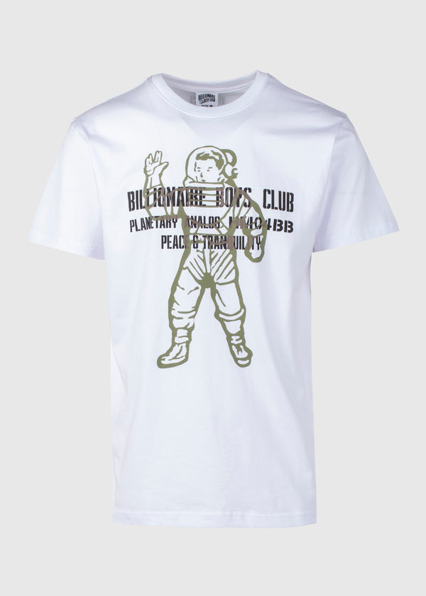 BILLIONAIRE BOYS CLUB: VISITOR SS TEE [WHITE]