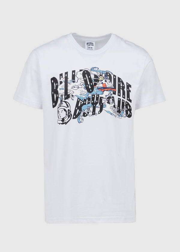 BILLIONAIRE BOYS CLUB: RECOVERY SS TEE [WHITE]