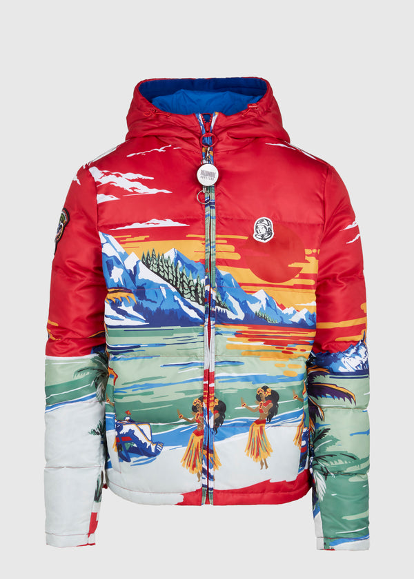 BILLIONAIRE BOYS CLUB: PARADISE JACKET [RED]