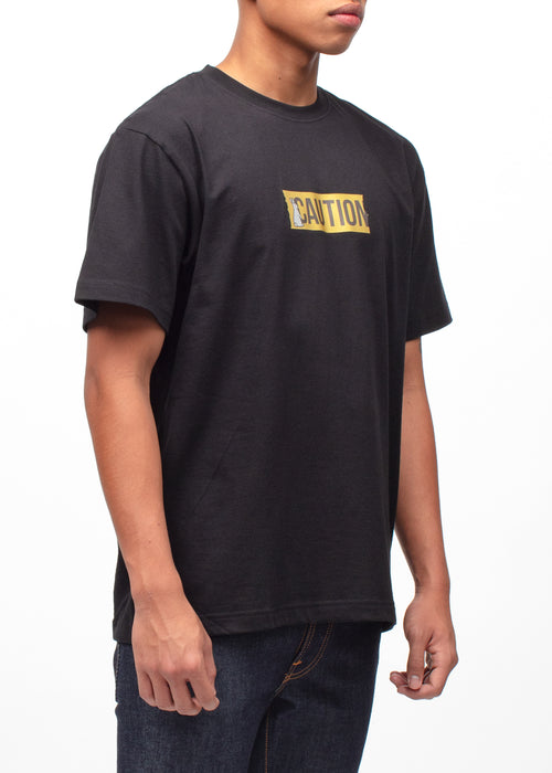 CAUTION REFLECTIVE TEE