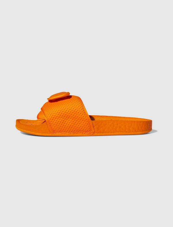ADIDAS X PHARRELL WILLIAMS: BOOST SLIDE [ORANGE]