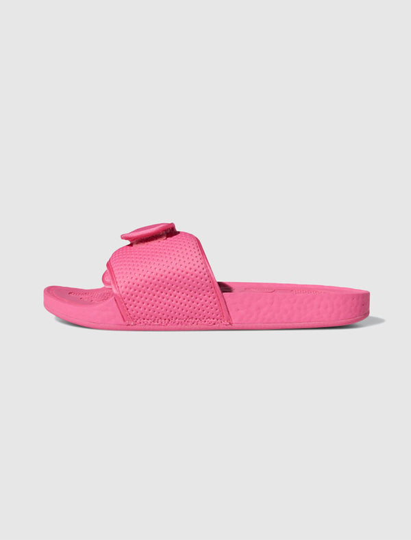 ADIDAS X PHARRELL WILLIAMS: BOOST SLIDE [PINK]