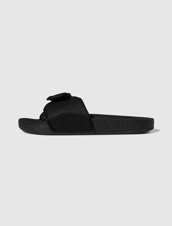 ADIDAS X PHARRELL WILLIAMS: BOOST SLIDE [BLACK]