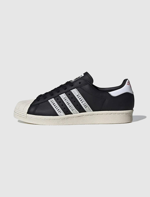 ADIDAS X HUMAN MADE: SUPERSTAR 80S [BLACK]
