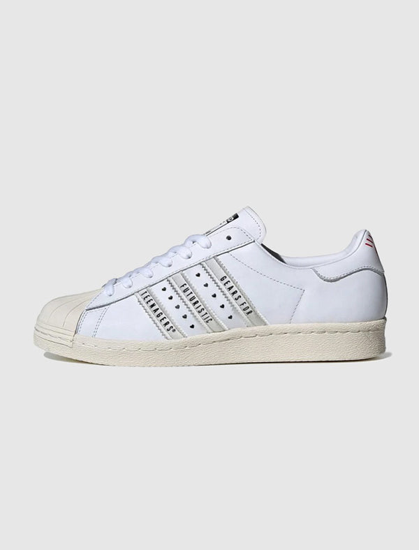 ADIDAS X HUMAN MADE: SUPERSTAR [WHITE]