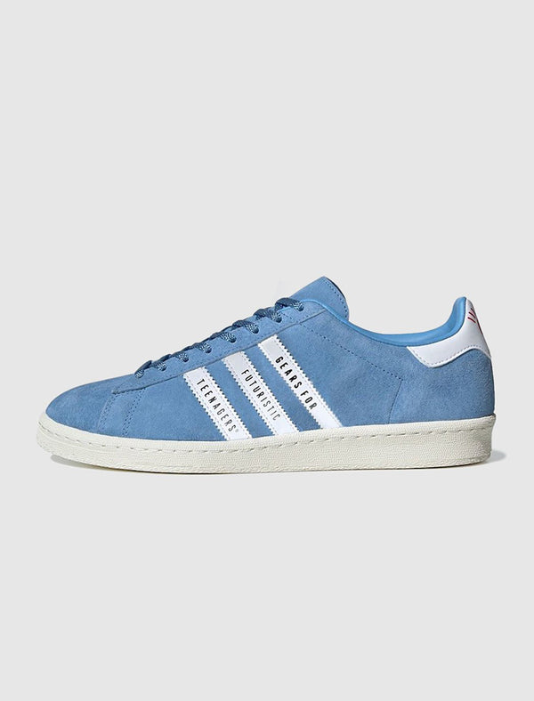ADIDAS X HUMAN MADE: CAMPUS SHOE [BLUE]