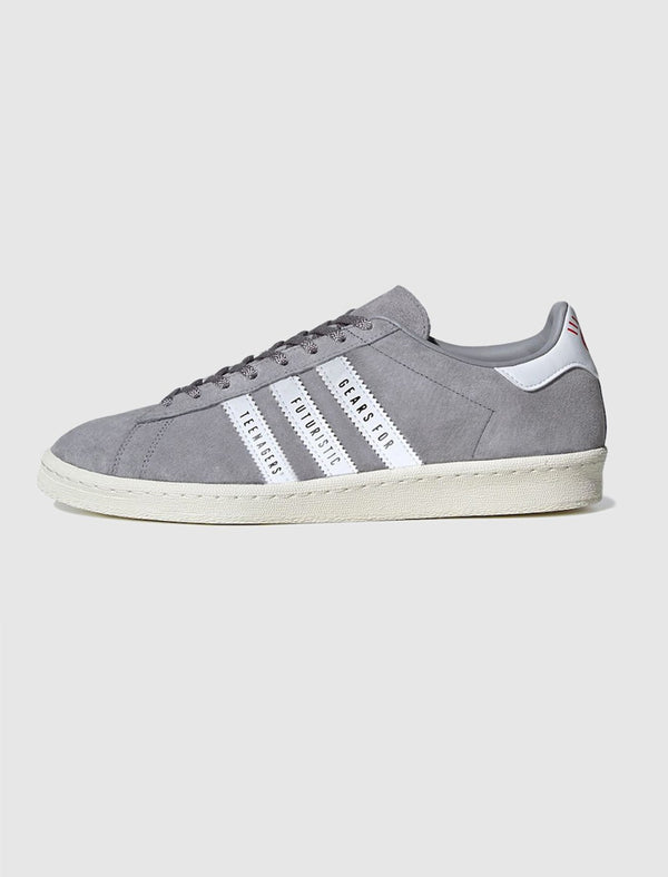 ADIDAS X HUMAN MADE: CAMPUS SHOE [WHITE/ONYX]