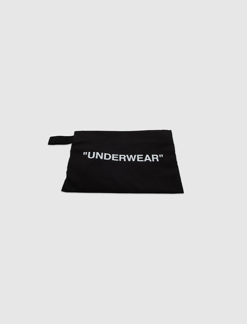 OFF-WHITE UNDERWEAR BAG