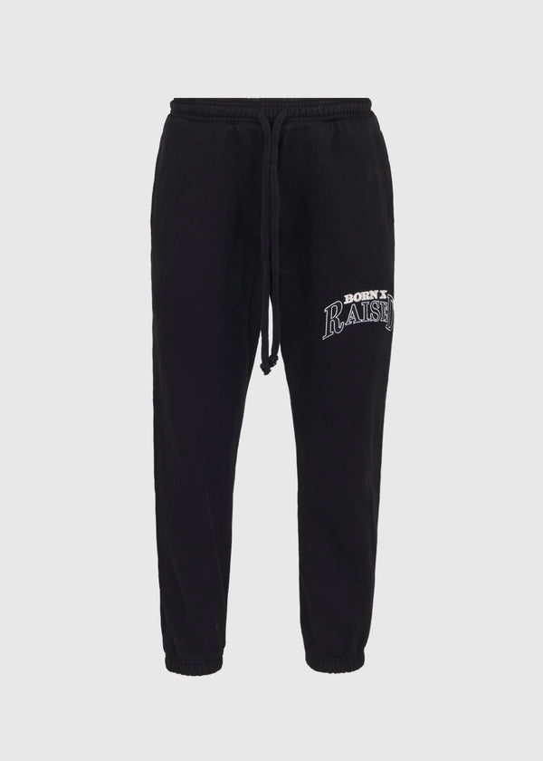 BORN X RAISED: SWEATPANTS [BLACK]