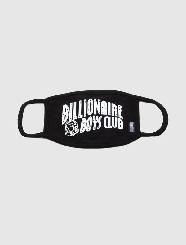 BILLIONAIRE BOYS CLUB: ARCH LOGO MASK [BLACK]