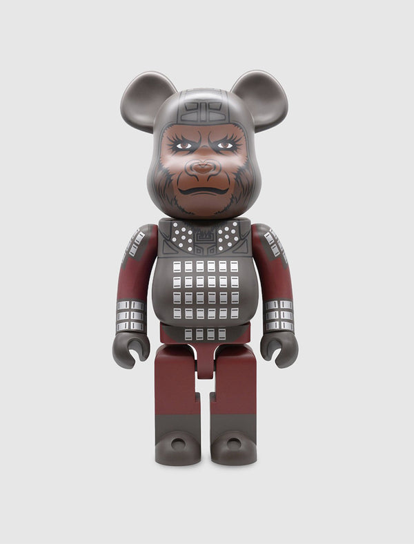 MEDICOM: BEARBRICK 1000% GENERAL URSUS [BLACK]
