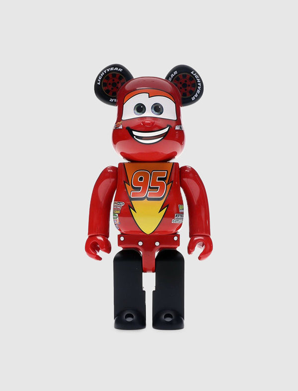 MEDICOM: BEARBRICK 400% MCQUEEN [RED]