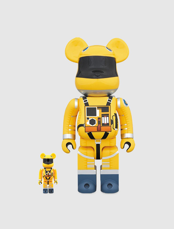 BEARBRICK 100/400% SPACE SUIT SET