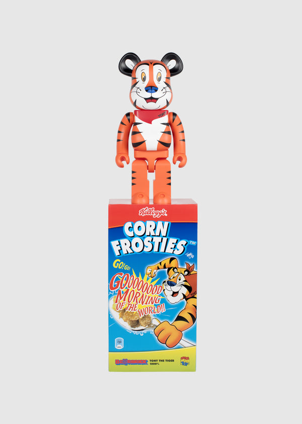 MEDICOM: BEARBRICK 1000% TONY TIGER [ORANGE]
