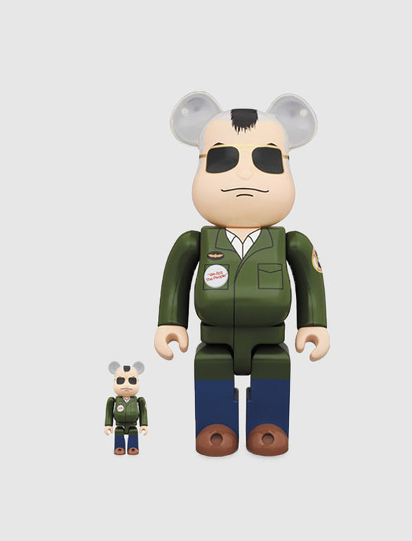 BEARBRICK 100/400% TRAVIS BICKLE SET
