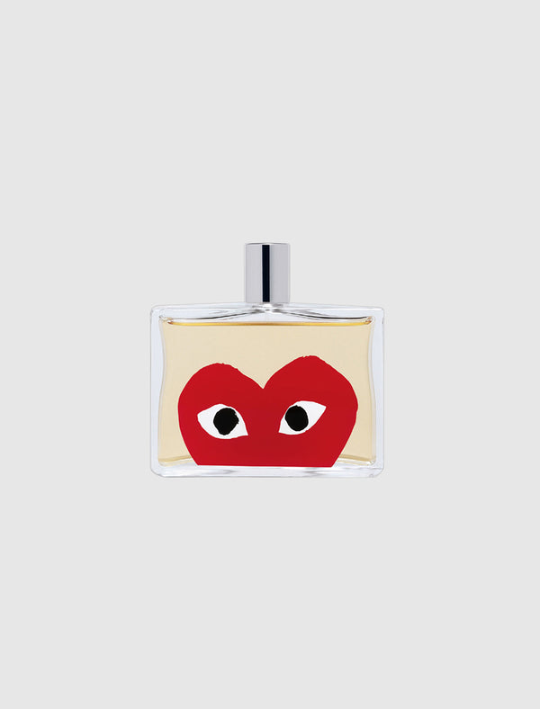 CDG PLAY: RED HEART PERFUME [RED]