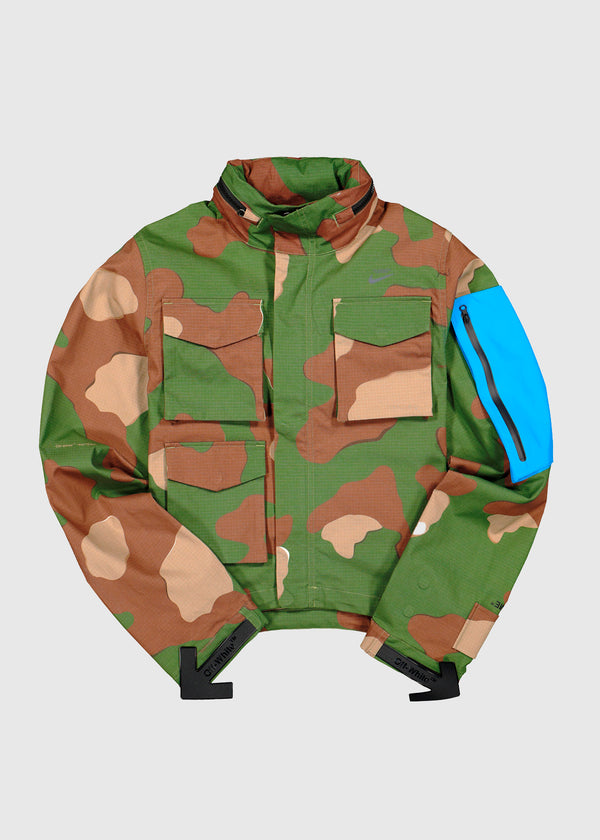 NIKE X OFF-WHITE: JACKET [CAMO]