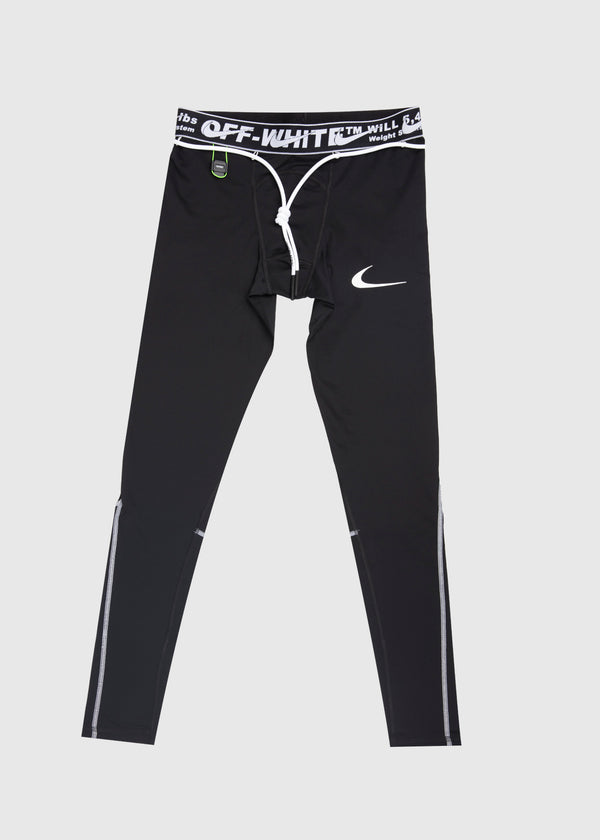 NIKE X OFF-WHITE: MEN'S TIGHTS [BLACK]